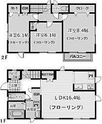 [一戸建] 兵庫県西宮市西平町 の賃貸【兵庫県 / 西宮市】の間取り