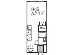 寿ビルV[2階]の間取り
