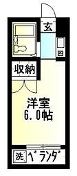 グリーンハウス湘南[3階]の間取り