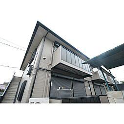 埼玉県川越市小堤の賃貸アパートの外観