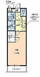 ルーチェ[1階]の間取り