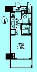 ウィスティリア高津[4階]の間取り
