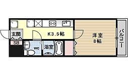 コンフォート深草[305号室号室]の間取り