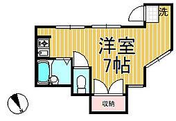 メゾン北鎌倉[101号室]の間取り