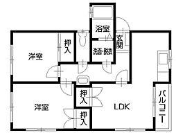 SAIWAI701ビル[3階]の間取り