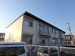 浜寺グリーンハイツB棟[2階]の外観