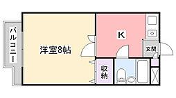 あさまプラザI[2階]の間取り