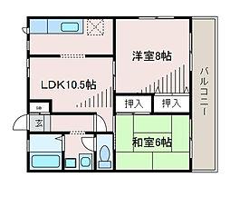 AIKAWAマンション[1階]の間取り