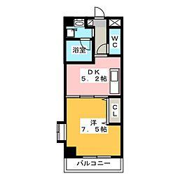 メゾン・ド・エタリテ[1階]の間取り