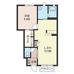 ランプハウス[1階]の間取り