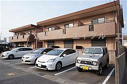 兵庫県姫路市飾磨区加茂の賃貸マンションの外観