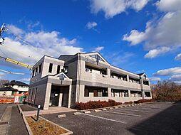 岐阜県可児市今渡の賃貸アパートの外観