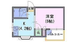 ヒューマンスペースライフ88[3階]の間取り