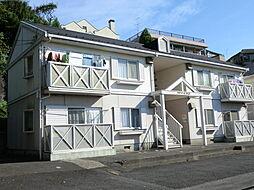 東京都八王子市散田町5丁目の賃貸アパートの外観