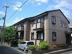 大阪府高槻市南松原町の賃貸アパートの外観