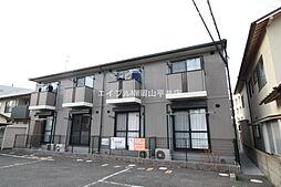 岡山県岡山市北区青江3丁目の賃貸アパートの外観