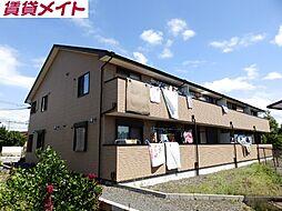 三重県亀山市栄町の賃貸アパートの外観