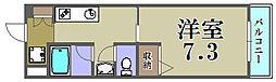 大阪府摂津市鳥飼本町5丁目の賃貸マンションの間取り