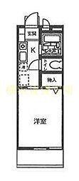 フィオーレ南太田[1階]の間取り