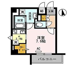 CASA MIA due[4階]の間取り