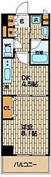 アレンダール梅田西[2階]の間取り