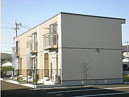 鹿児島県霧島市国分福島3丁目の賃貸アパートの外観