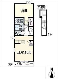 スティア I[2階]の間取り
