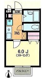 カサ・マティス[2階]の間取り