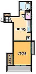 東京都足立区足立1丁目の賃貸マンションの間取り