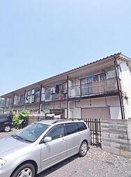 埼玉県新座市栄2丁目の賃貸アパートの外観
