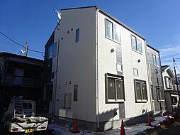 東京都北区赤羽西2の賃貸アパートの外観