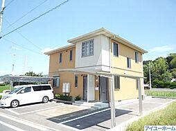 福岡県北九州市八幡西区本城学研台2丁目の賃貸アパートの外観