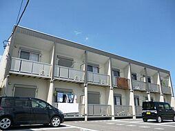 愛知県安城市堀内町阿原の賃貸アパートの外観