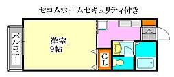 エクシードM[1階]の間取り