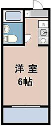 ファインスクエア鴨志田2[303号室]の間取り