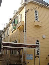 神奈川県横浜市港北区樽町3丁目の賃貸アパートの外観