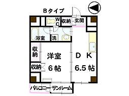 雅106[7階]の間取り