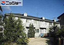 愛知県名古屋市名東区松井町の賃貸アパートの外観