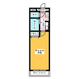 A・City昭和町[2階]の間取り