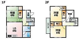 [一戸建] 千葉県茂原市南吉田 の賃貸【/】の間取り