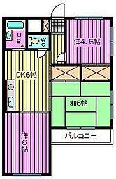 センターヒルNKD[305号室]の間取り