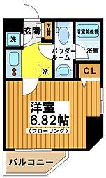 フォレシティ笹塚[4階]の間取り