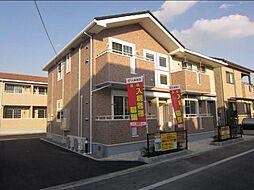広島県福山市東川口町5の賃貸アパートの外観