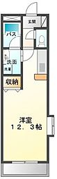 fiume.castello(ヒューメキャステッロ)[2階]の間取り