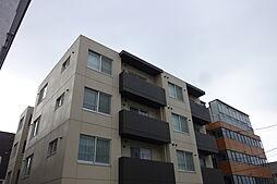 北海道札幌市白石区南郷通16丁目の賃貸マンションの外観