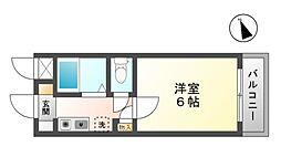 共立リライアンス豊田B棟[3階]の間取り
