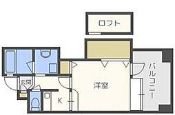 アイビースクエアマンション[14階]の間取り