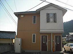 広島県広島市安佐北区三入1丁目の賃貸アパートの外観