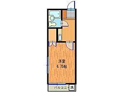 コーポ原田[2階]の間取り