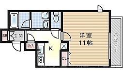デルタNODA[7階]の間取り